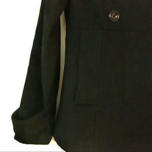 GAP Jackets & Coats - Black wool peacoat
